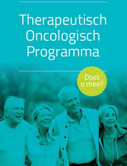 Startdatum Therapeutisch Oncologisch Programma verschoven naar maandag 7 januari 2019