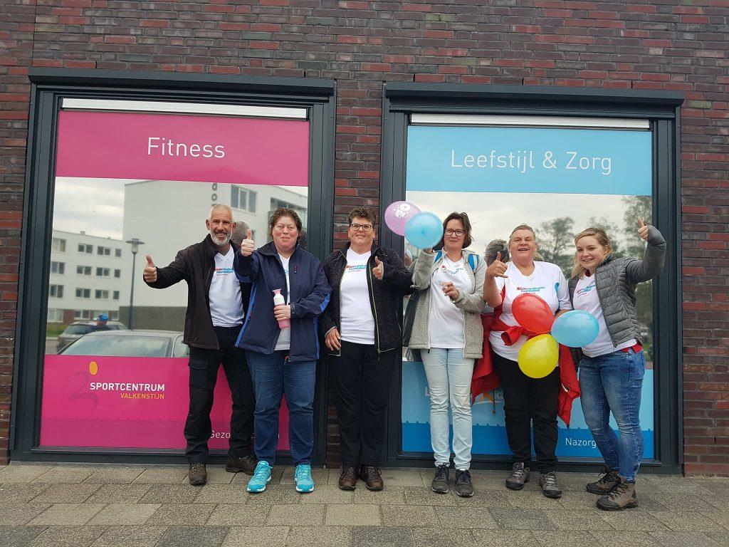Deelnemers van BeweegpASSEN voltooien hun eerste Nationale Diabetes Challenge in Amsterdam